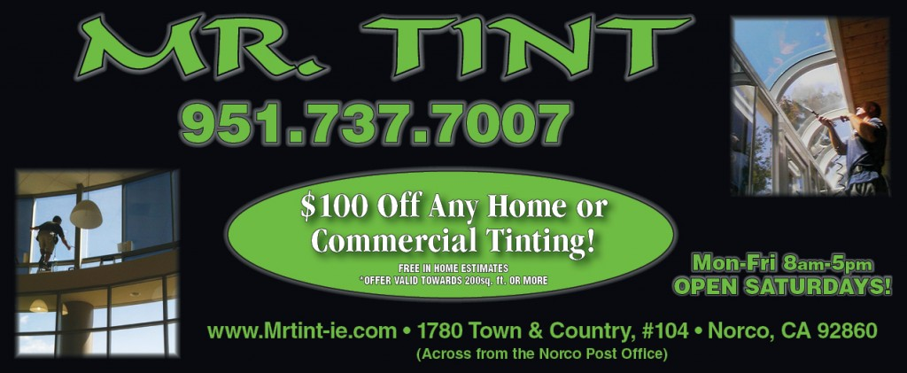 Mr Tint Coupon - Coupon for discounts on window tinting
