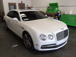 2014 Bentley Mulsanne Tint